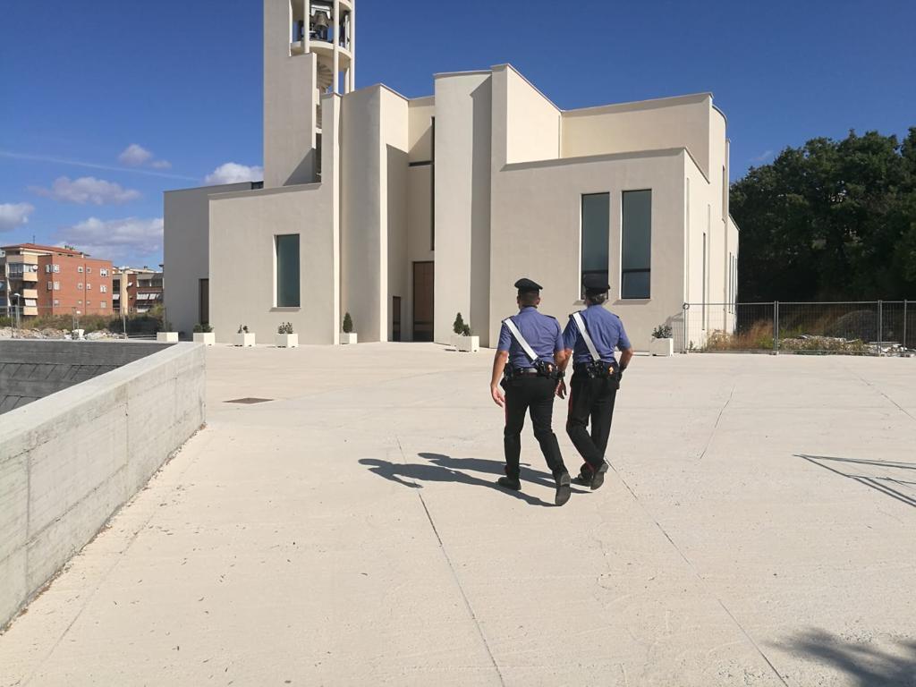 Furto alla chiesa di San Liborio, denunciati due civitavecchiesi