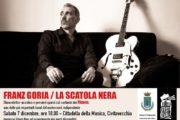 Franz Goria domani a FORTE! Festival