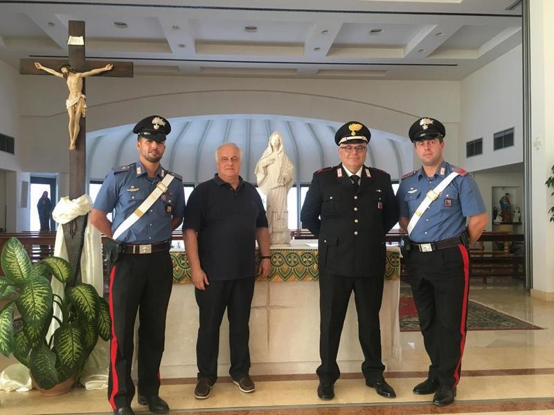 Ritrovata dai Carabinieri la Madonna di Medjugorje