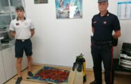 Montalto di Castro, Carabinieri e Guardia Costiera sequestrano cinque chilogrammi di corallo rosso