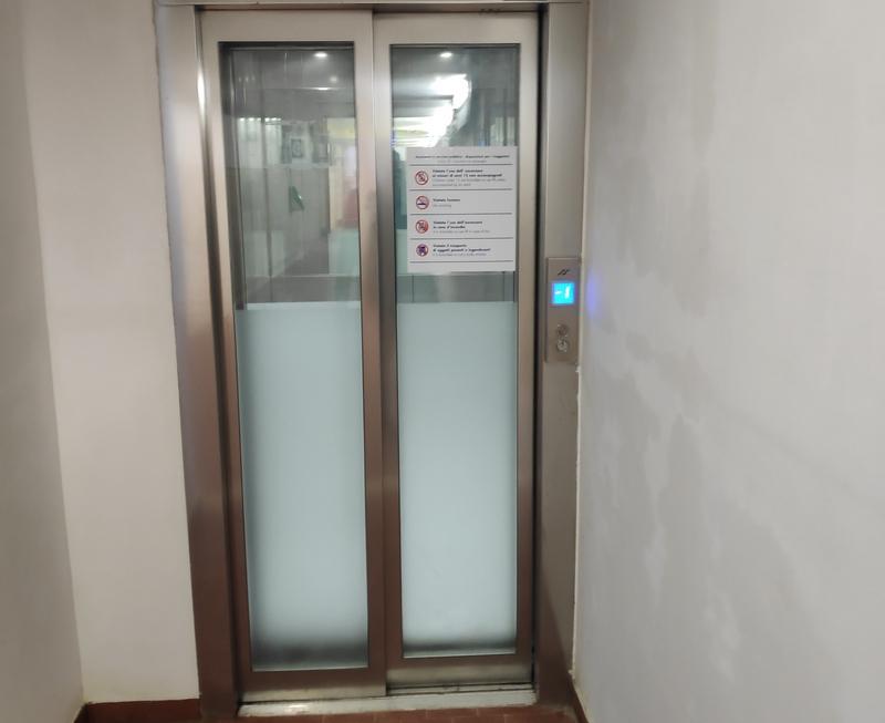 Attivati gli ascensori alla stazione