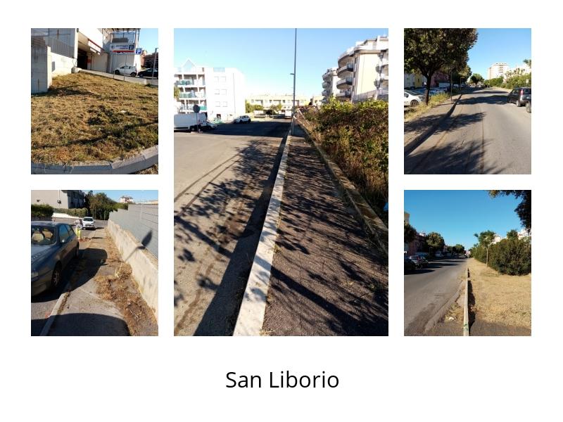 Spazzamento e sfalcio, proseguono i lavori a San Liborio
