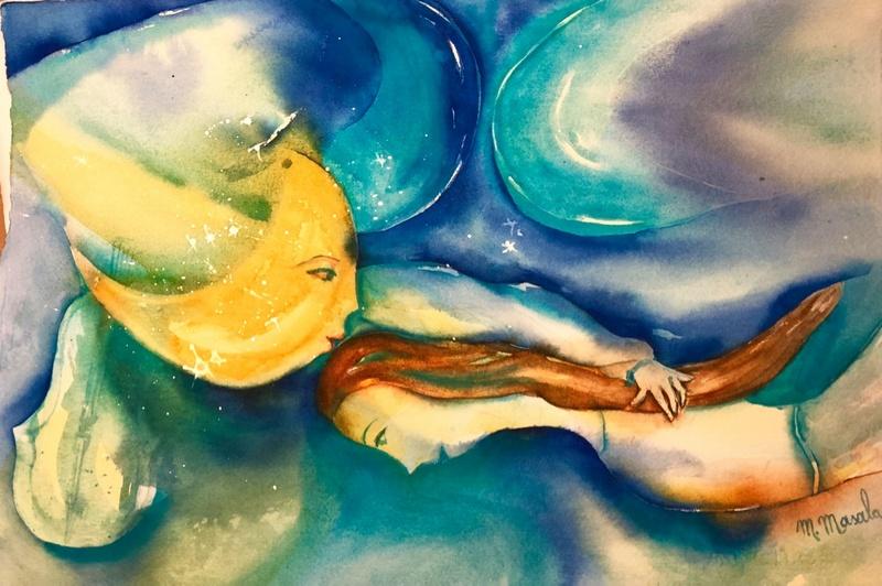 Corso di acquerello con la pittrice Adriana Buggino