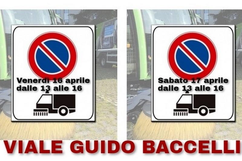 Csp, venerdì e sabato divieto di sosta in viale Guido Baccelli