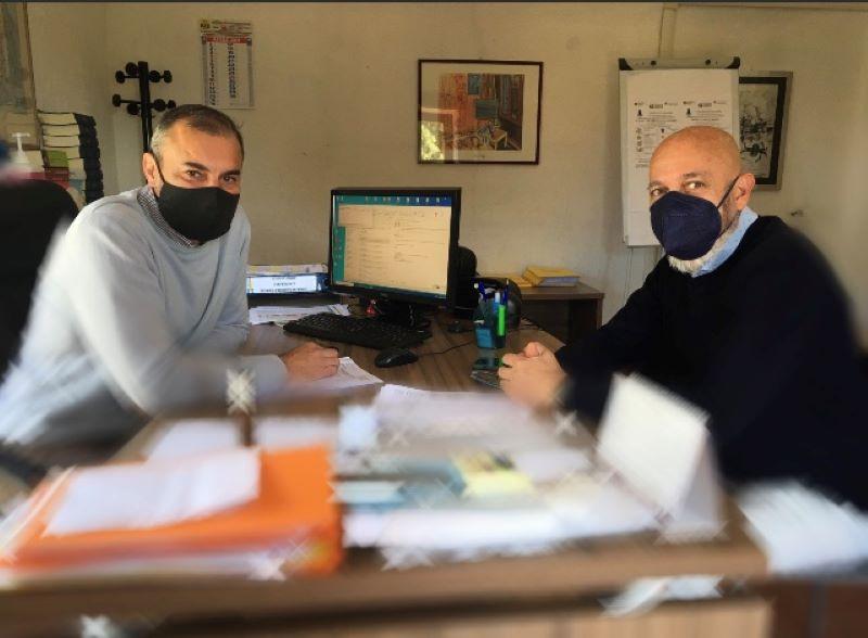 Csp, incontro tra il sindaco Tedesco ed il presidente Lungarini