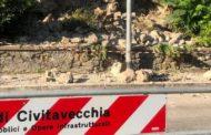 Via Isonzo, altro smottamento delle mura medievali
