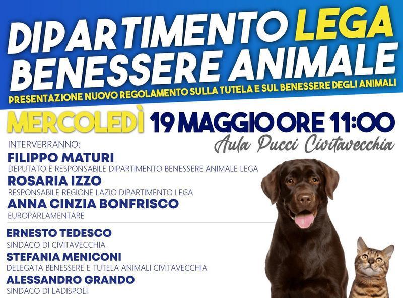 Benessere Animale: incontro mercoledì all'aula Pucci