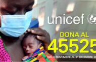 L'Unicef lancia la nuova campagna di raccolta fondi