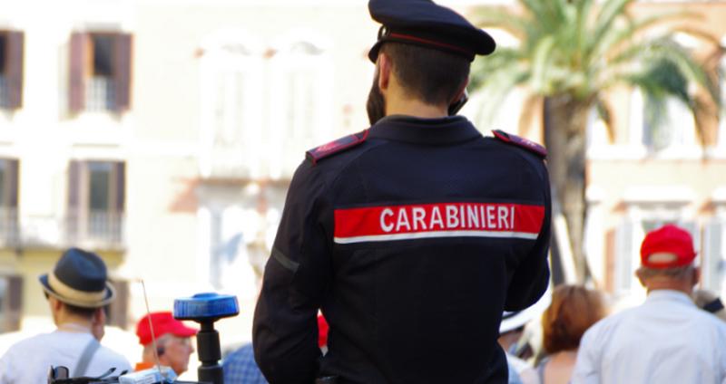 Carabinieri arrestano ladro seriale