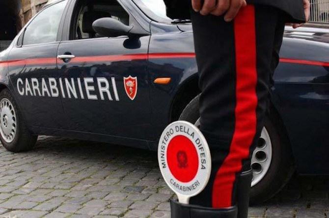 Un arresto e tre denunce da parte dei Carabinieri