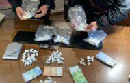 Trovati in possesso di un chilo di cocaina, arrestati un uomo e una donna
