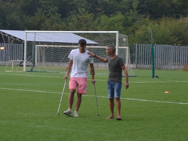 Calcio, Cerroni operato con successo al crociato del ginocchio