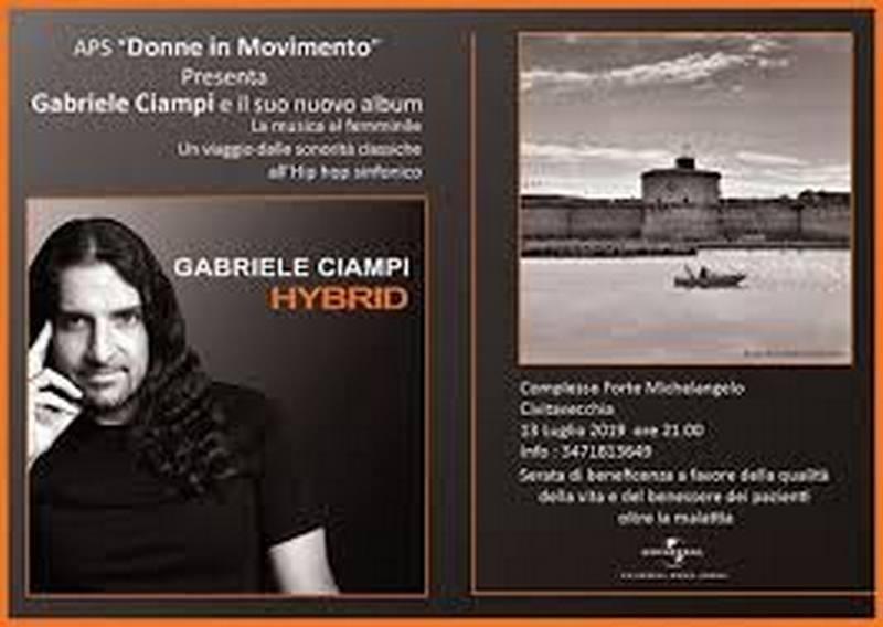 Gabriele Ciampi, concerto al Forte in nome della solidarietà