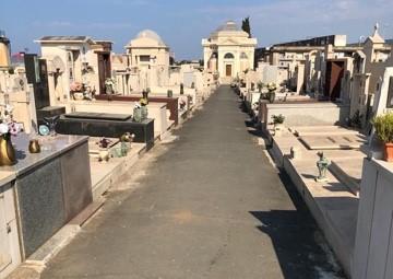 Pulizia dei cimiteri comunali, Csp al lavoro