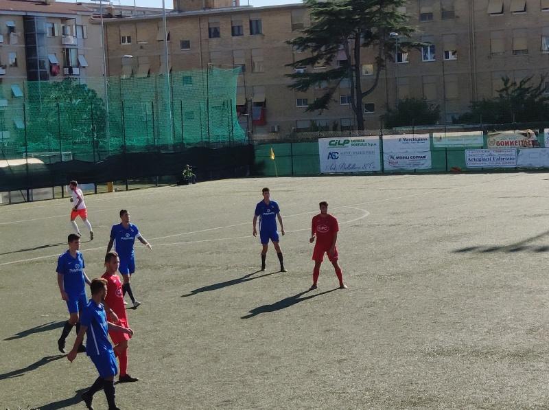 Calcio, il Civitavecchia cala il poker con l'Atletico Vescovio