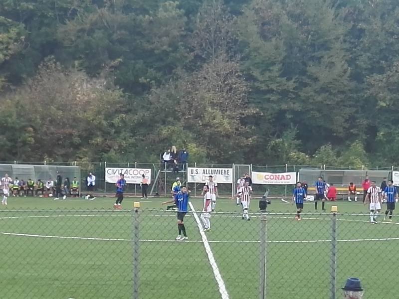Calcio, un ottimo Civitavecchia fa 3-3 con l'Eretum Monterotondo