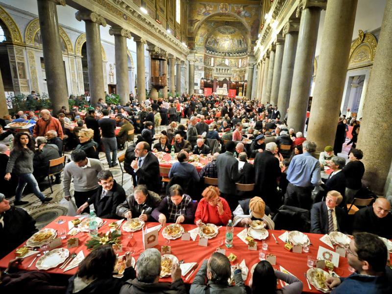 Una messa per i 50 anni della Comunità di Sant'Egidio
