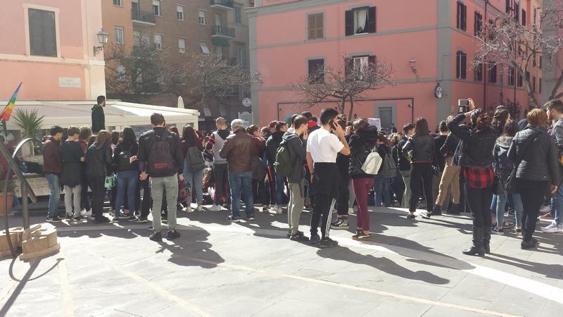 Anche Civitavecchia scende in piazza per Global Strike for future