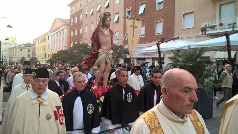 Concomitanza con Santa Fermina, salta la Processione del Cristo Risorto