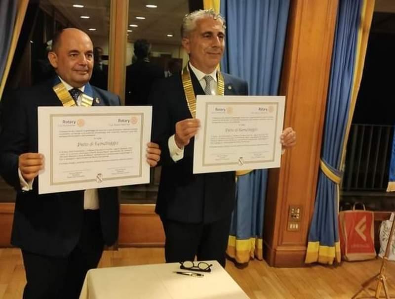 Gemellaggio tra Rotary Civitavecchia e Rotary Napoli Nord Est
