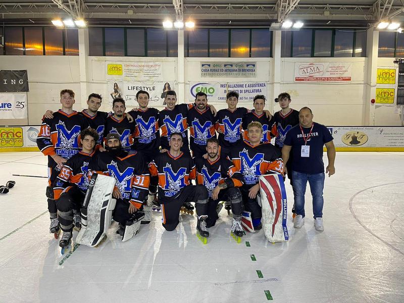 Hockey, primo gol con il Monleale per Novelli