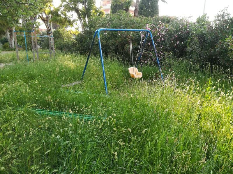 Spigarelli, il parco dimezzato