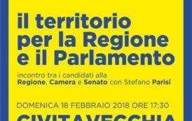 Elezioni 2018, Parisi oggi a Civitavecchia