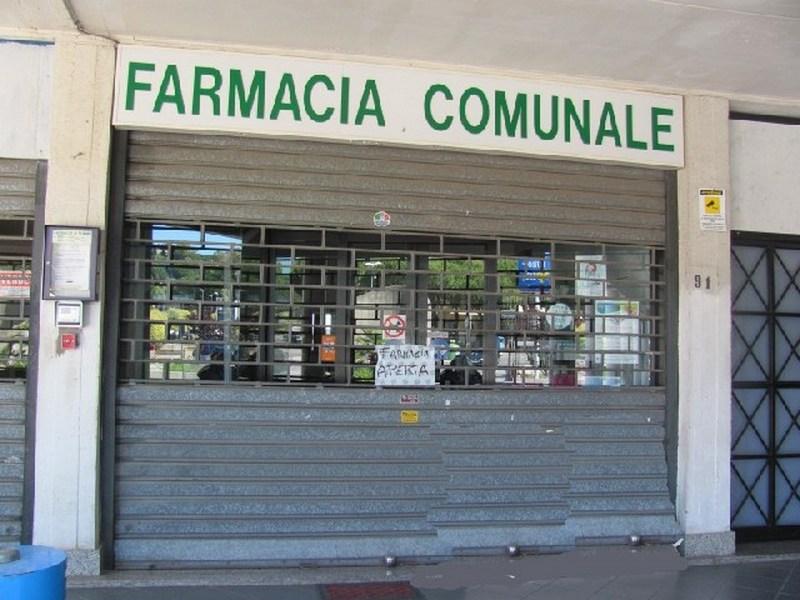 Gli orari delle farmacie comunali ad agosto