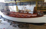 La Bilancella restaura una scialuppa dell'Amerigo Vespucci