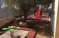 Il giardino della scuola dell'Infanzia di San Liborio è pronto a sbocciare