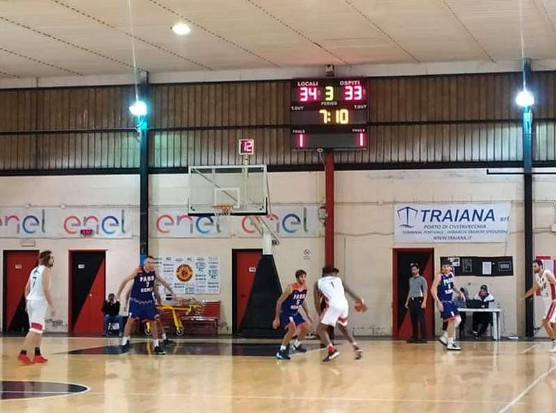 Basket, Ste.Mar 90: si spegne ancora la luce