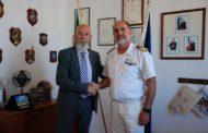 Il sindaco Tedesco in visita alla Capitaneria di Porto