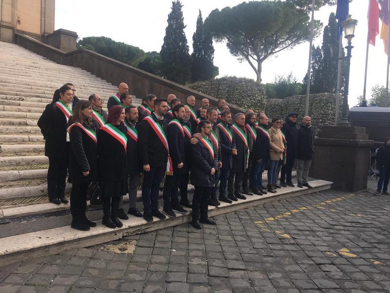 Rifiuti, Tedesco a Palazzo Valentini con gli altri sindaci