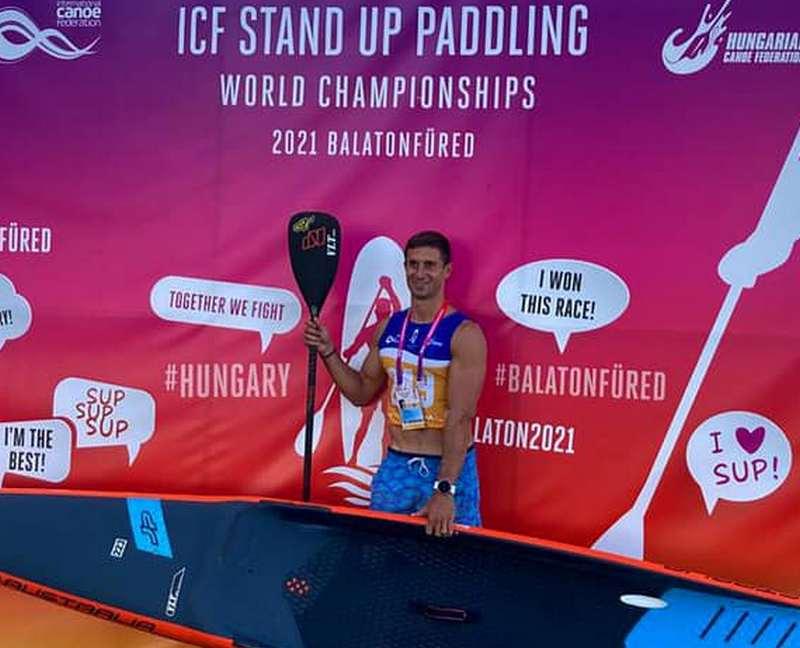 Paddlesurf, Pampinella in tandem alla finale Mondiale