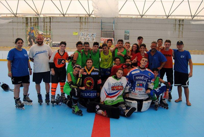 Hockey, grande successo per lo Zurek Stage